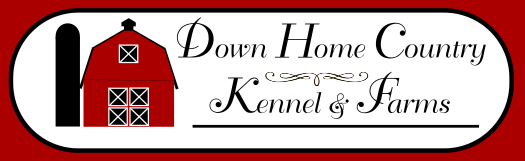 Down Home Country Kennel and Farms web logo